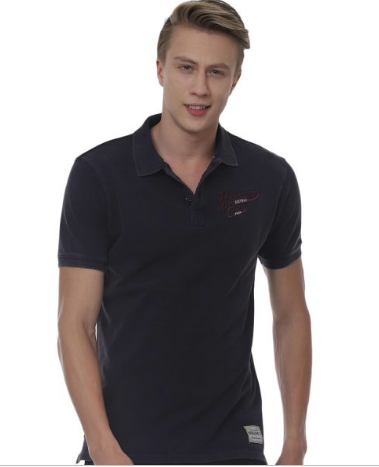 Melbourne Swoosh Unisex Washed Polo