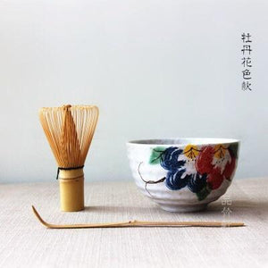 Matcha Tea Gift Set Matcha Bowl, Chasen and Chashaku Japan set to Tea Ceremony Teawares Japanese
