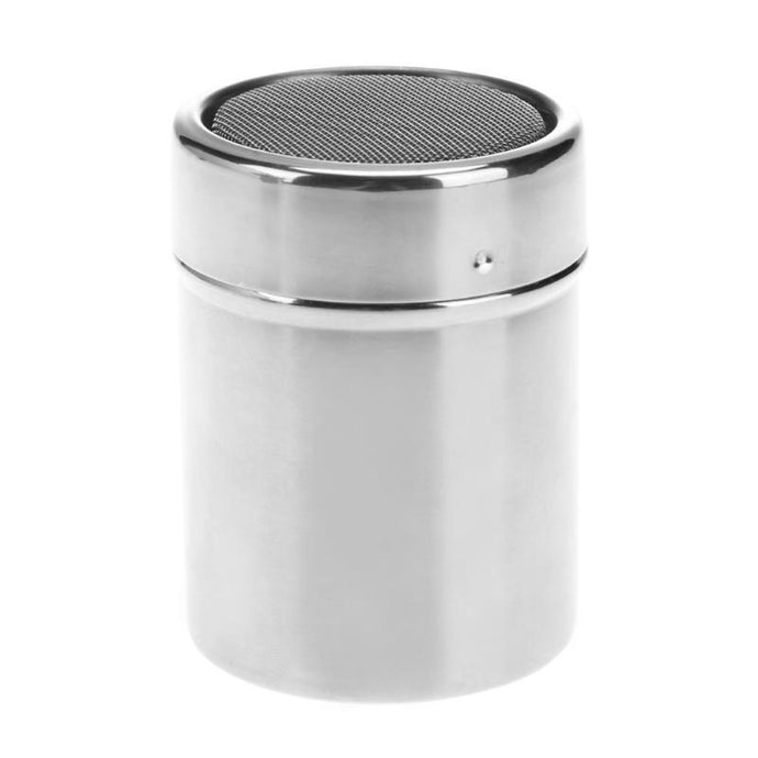 Mini Stainless Steel Flour Salt Sifter Chocolate Powder Shaker Icing Sugar Dredger with Cover Matcha Coffee Sieve