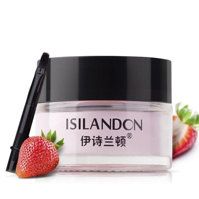 Strawberry/Matcha Flavor Lip Sleeping Mask Moisturizing Nourishing Repair Lip Cream Skin Care 2018 New