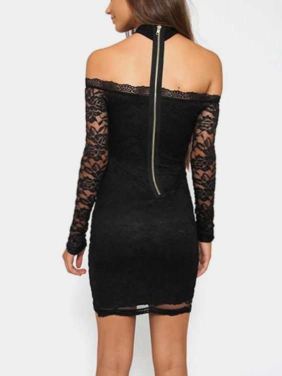 Womens Black Mini Dresses