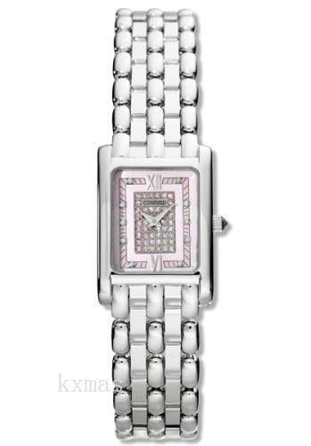 Discount Luxury 18Ct White Gold 14 mm Watch Band 308460_K0025742