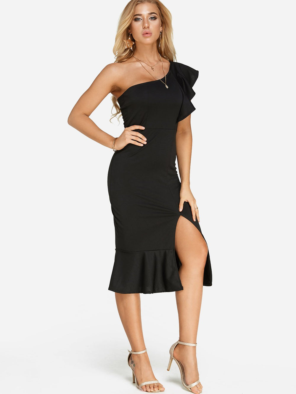 Ladies Sleeveless Sexy Dresses