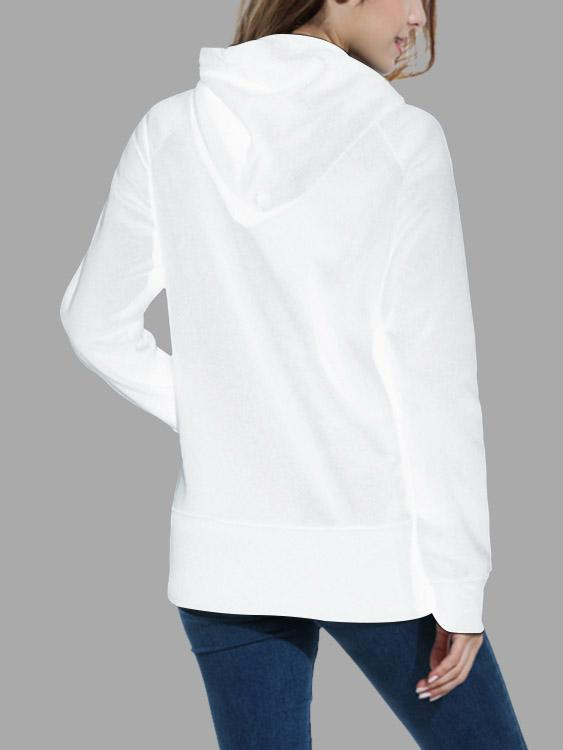 Womens White Sweatshirts