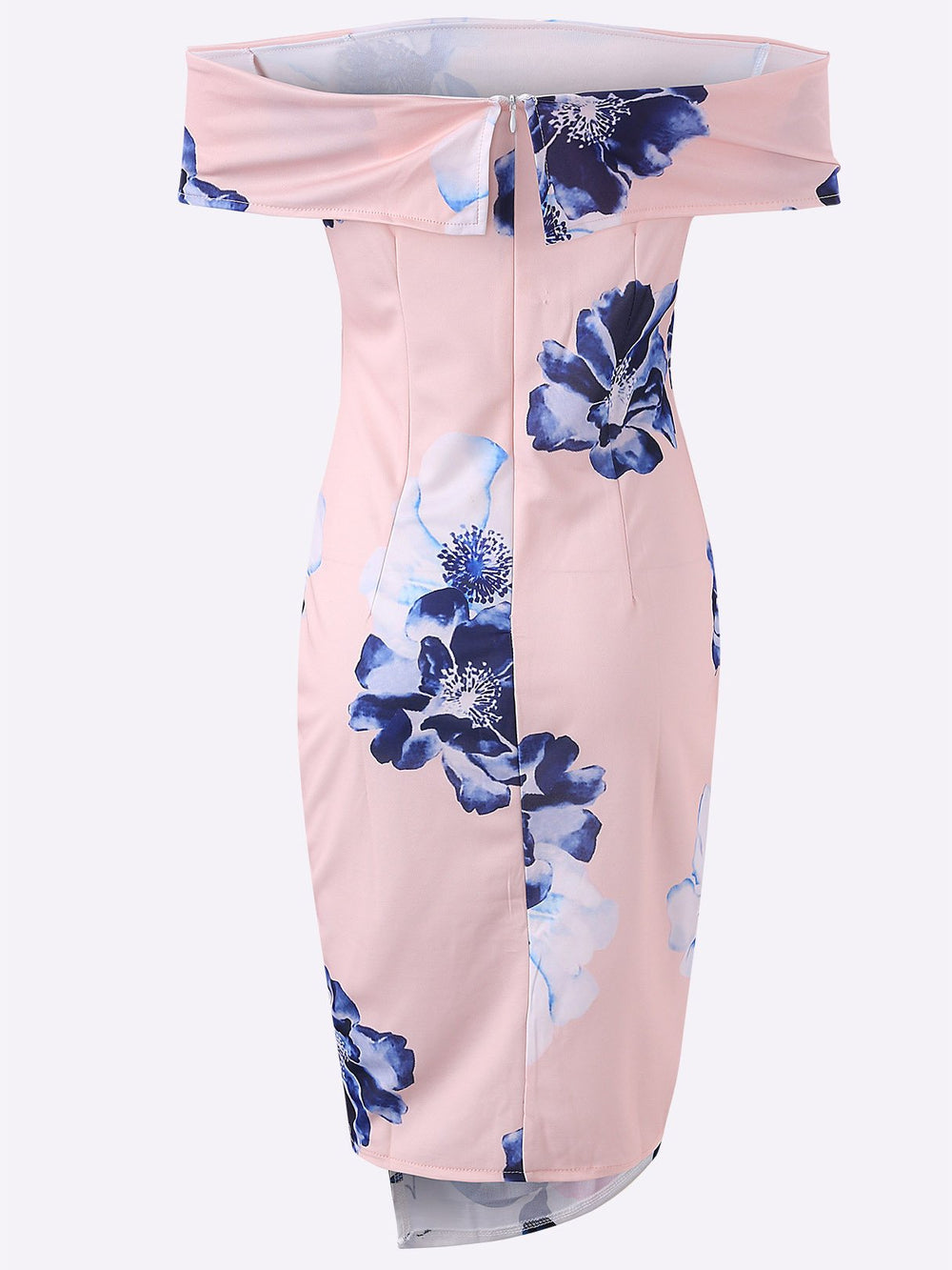 Ladies Pink Floral Dresses
