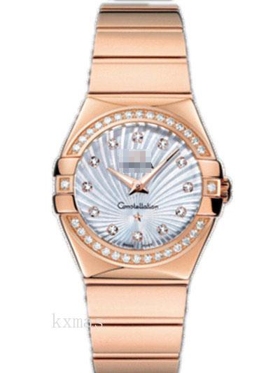 Wholesale Classic Rose Gold 20 mm Watch Wristband 123.55.27.60.55.005_K0018051