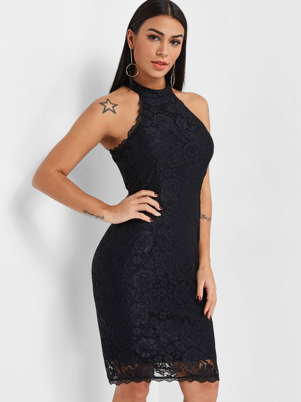 Ladies Black Bodycon Dresses