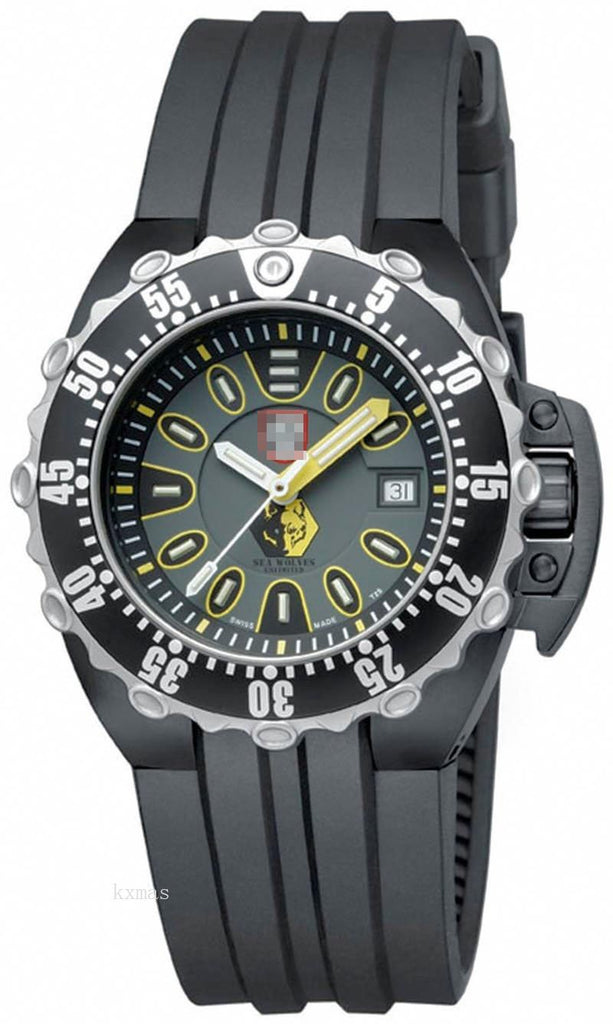 Affordable Elegance Rubber 25 mm Watches Band 1525_luminox_K0021208