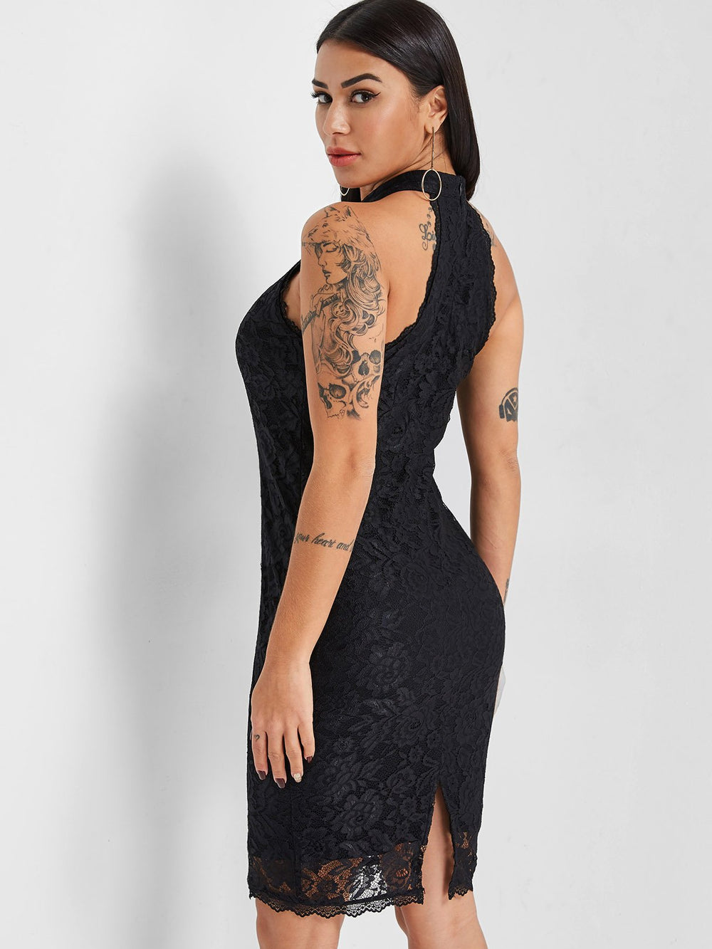 Womens Navy Bodycon Dresses