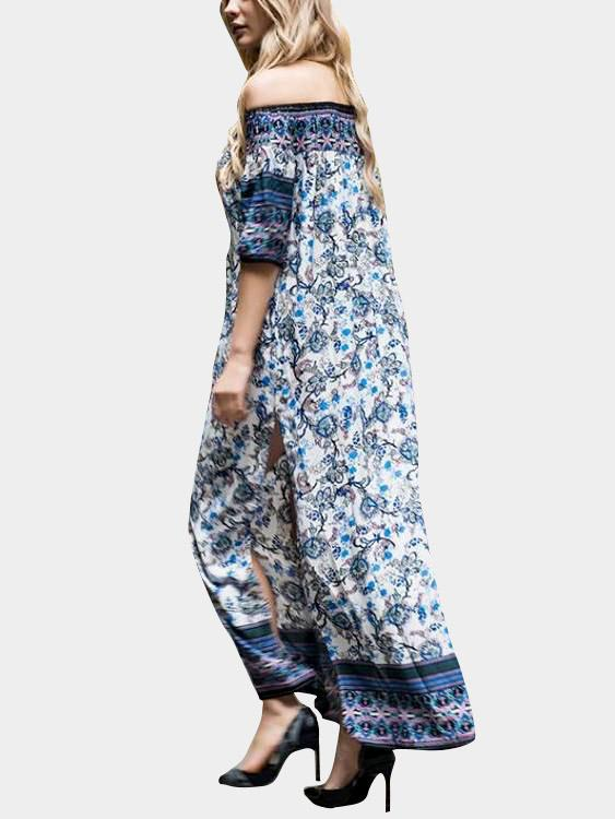 Womens Navy Maxi Dresses