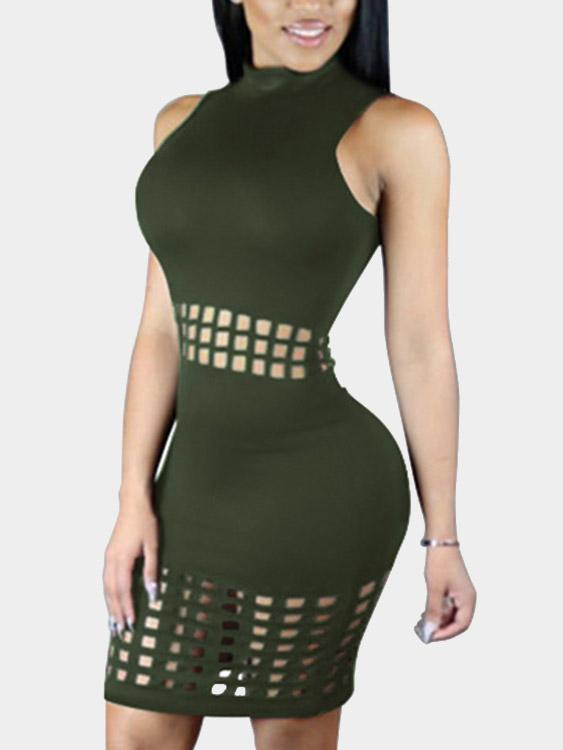 Ladies Green Bodycon Dresses