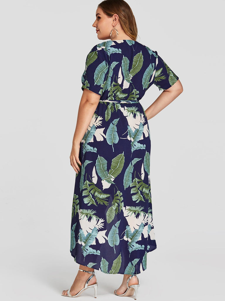 Womens Navy Plus Size Dresses