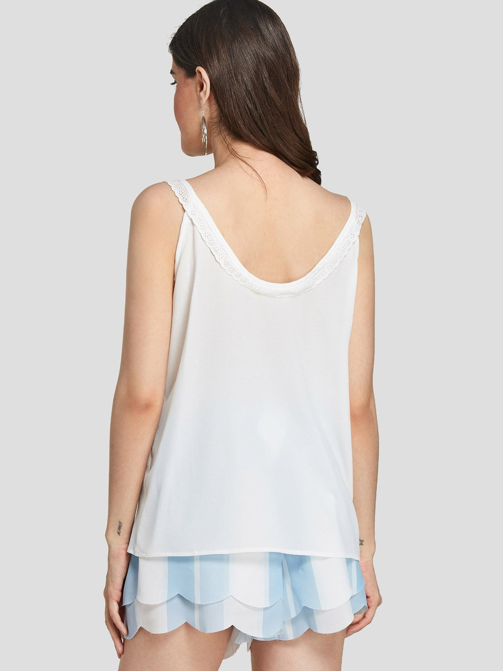 Ladies Sleeveless Tank Top