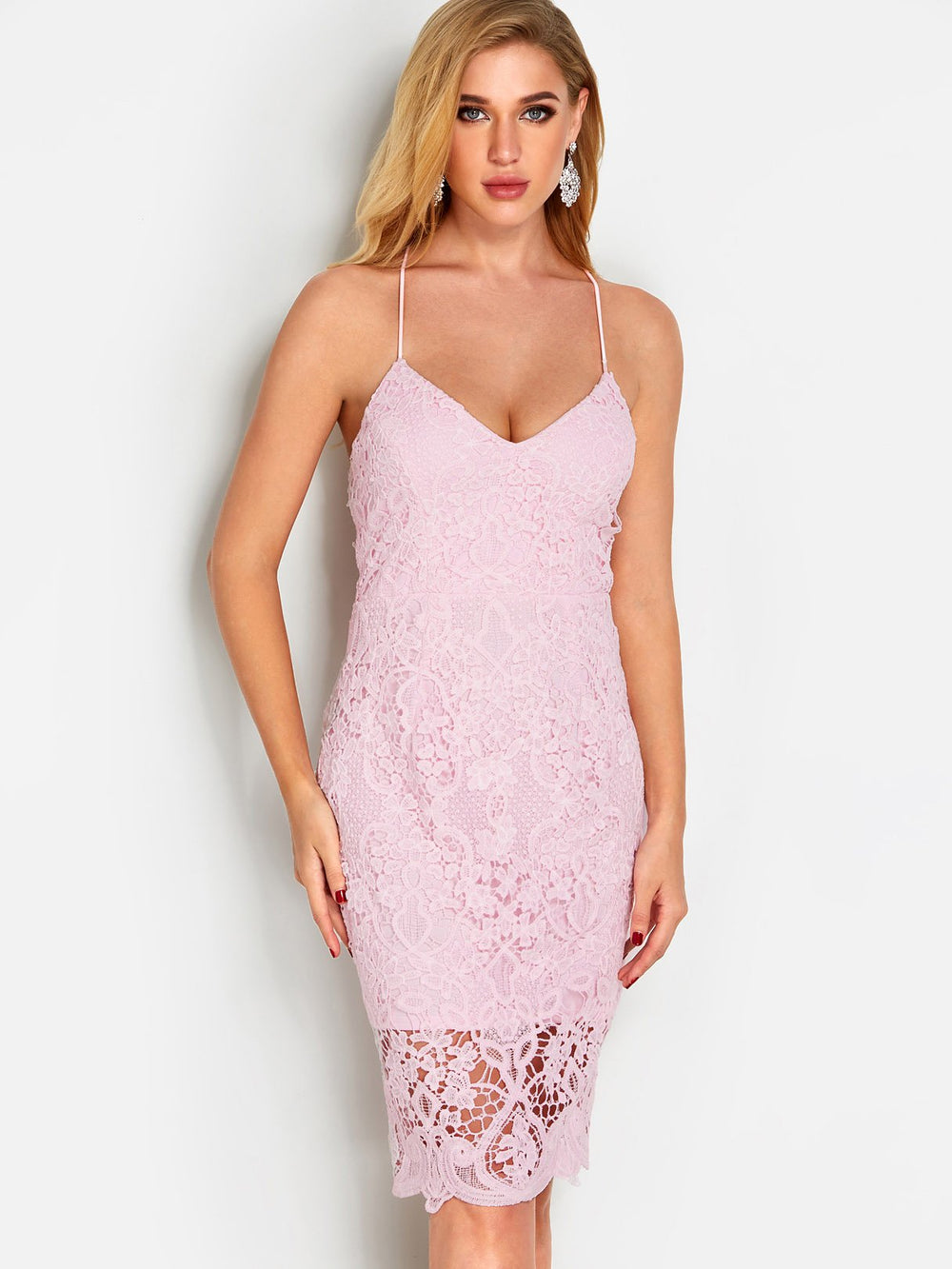 Ladies Pink Sexy Dresses