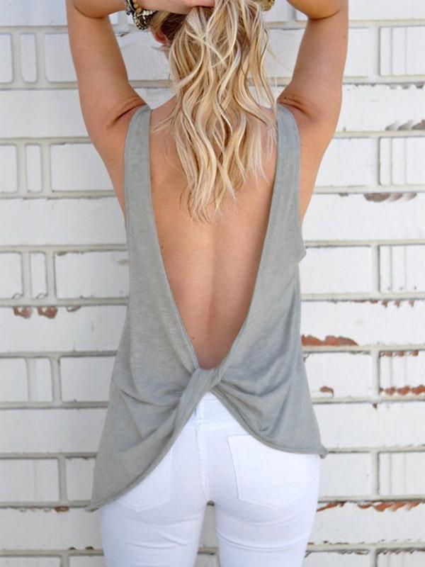 Backless Camis
