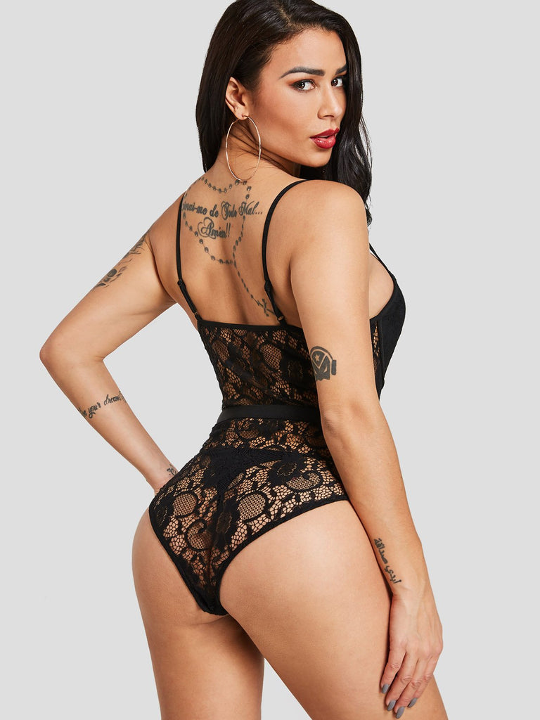 Womens Black Bodysuits