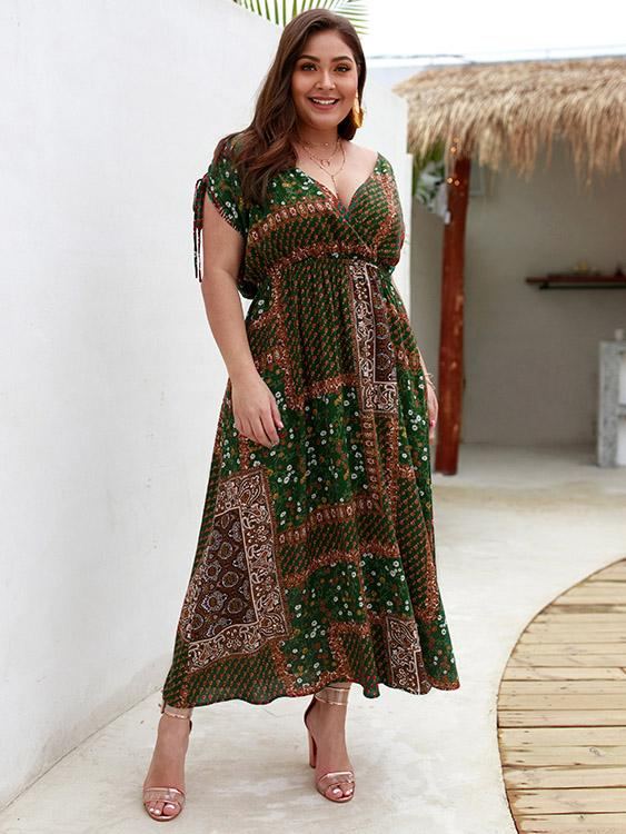 Plus Size Ladies Day Dresses