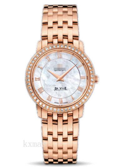 Wholesale Classic Rose Gold 17 mm Watch Band 413.55.27.60.05.002_K0017463
