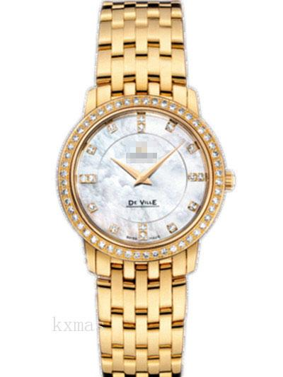 Wholesale Comfortable Yellow Gold 17 mm Watches Band 413.55.27.60.55.001_K0017462