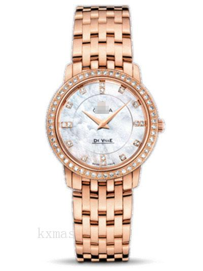 Wholesale OEM Rose Gold 17 mm Watch Bracelet 413.55.27.60.55.002_K0017460