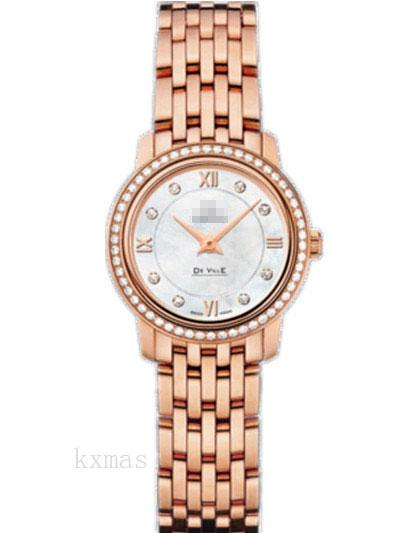 Wholesale Latest Trendy Rose Gold 15 mm Watch Band 424.55.24.60.55.002_K0017367