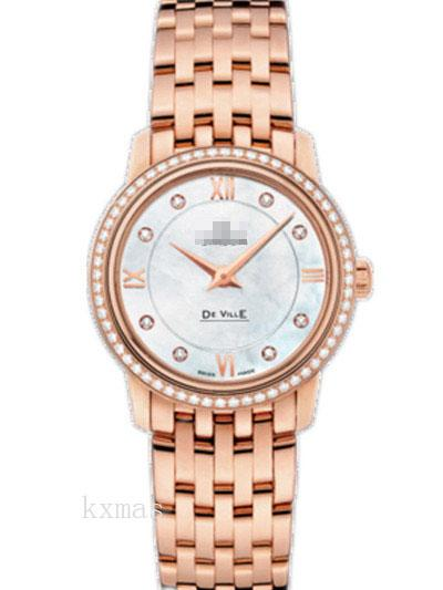 Wholesale Latest Rose Gold 20 mm Wristwatch Band 424.55.27.60.55.002_K0017366
