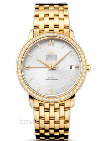 Wholesale Classic Yellow Gold 18 mm Watches Band 424.55.37.20.52.002_K0017358