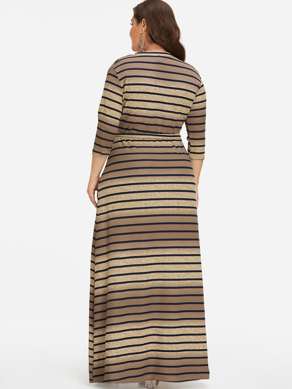 Womens Khaki Plus Size Dresses