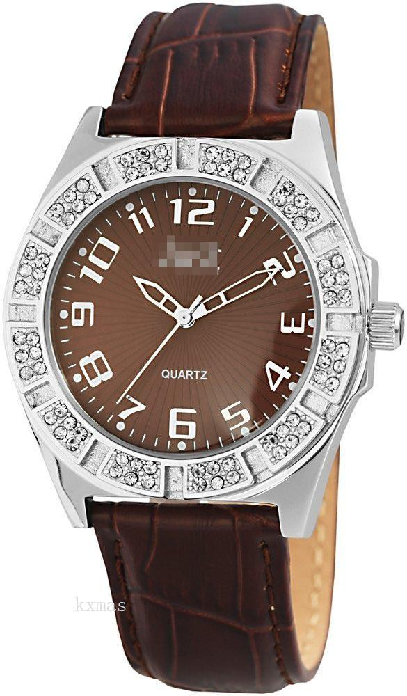Hot Sales Leather Watch Strap 48-S3878-BR_K0006809