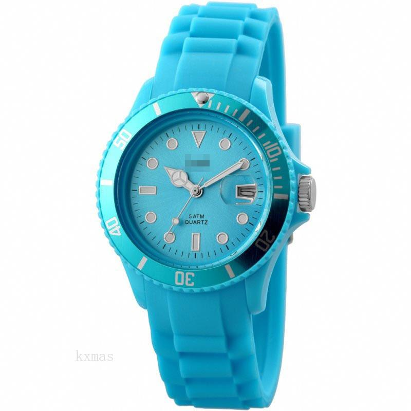 Wholesale Awesome Silicone 18 mm Watches Band 48-S5456-BL_K0006775