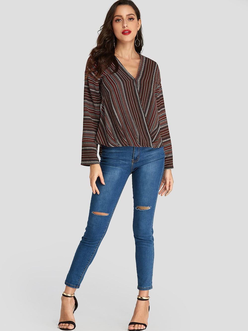Womens Brown Blouses