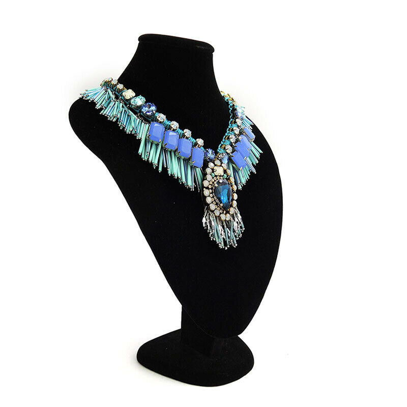 Fringed Collar Statement Necklace