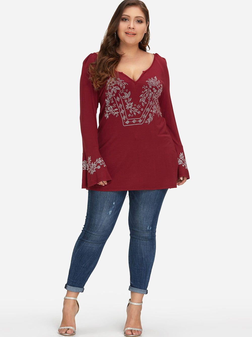 Plus Size Womens Tops Cheap