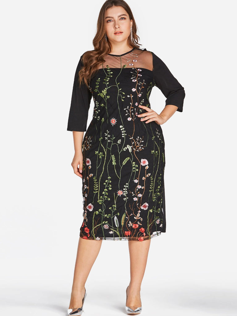 Flattering Plus Size Cocktail Dresses