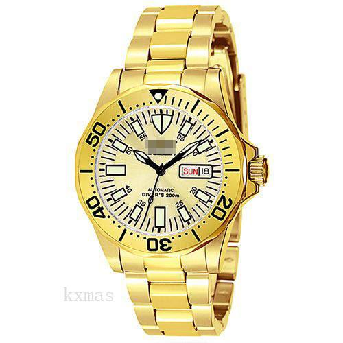 Quality Cheap 23K-Yellow-Gold-Plated 20 mm Watches Band 7047_K0033018