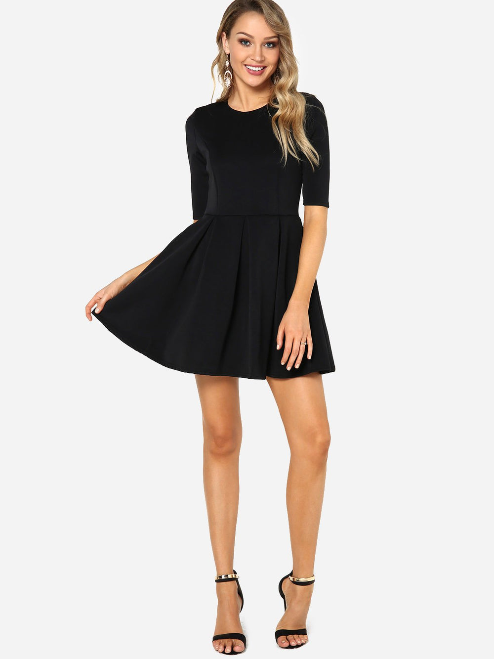 Womens Long Sleeve Casual Dresses