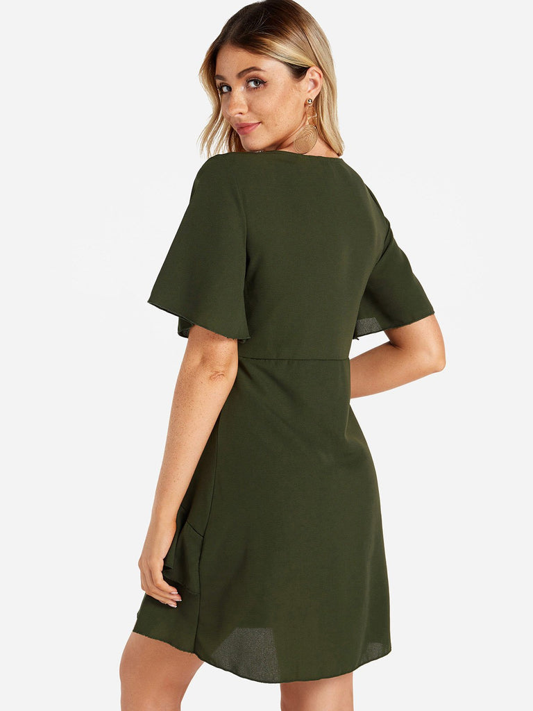 Womens Green Sexy Dresses