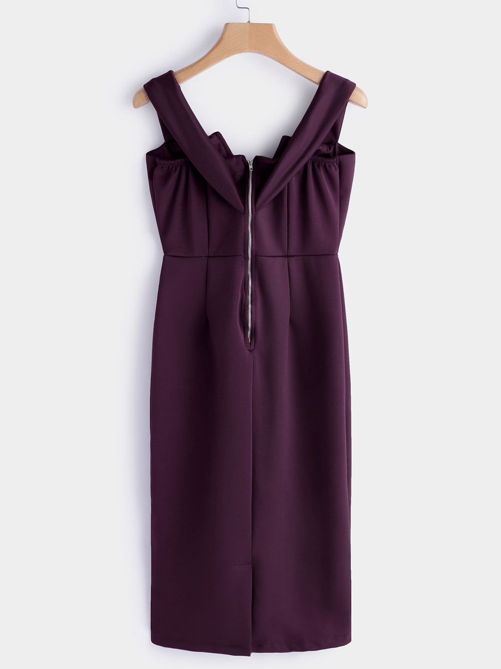 Womens Burgundy Sexy Dresses
