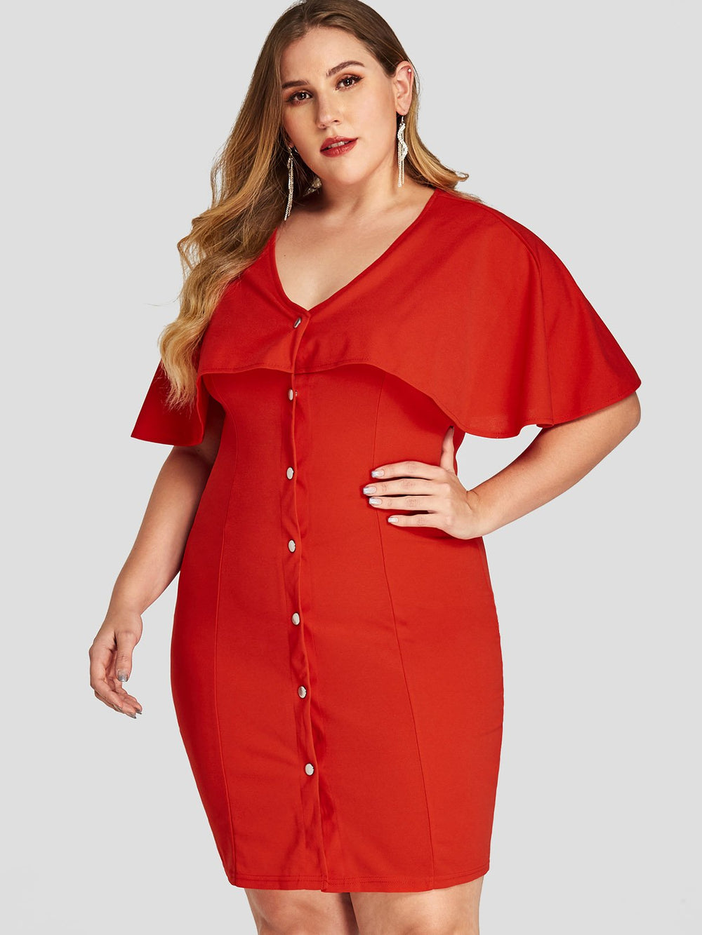 Women's Plus Size White Summer Dresses