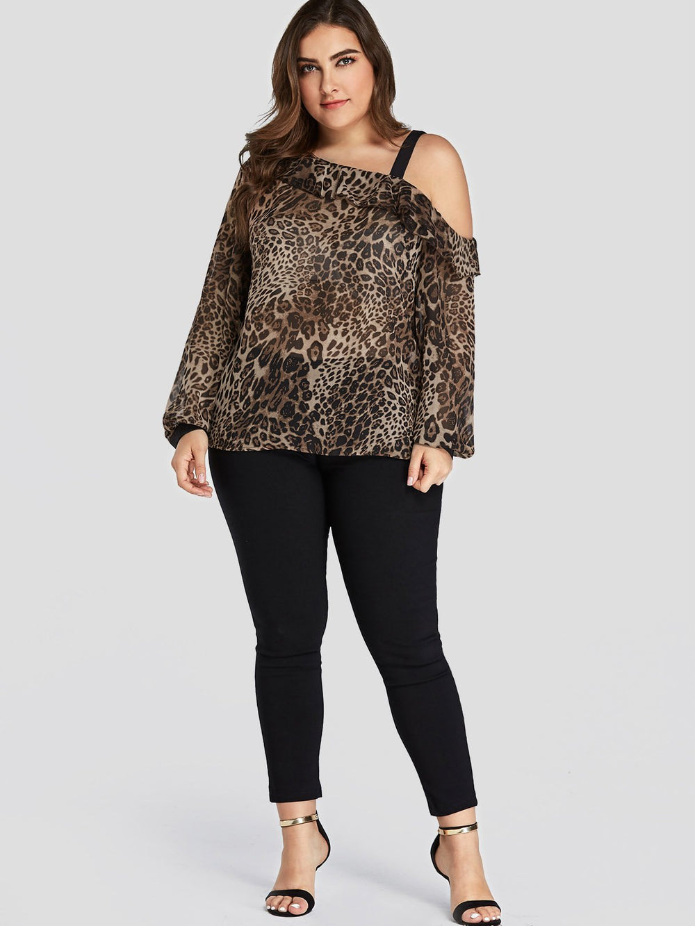 Womens Long Sleeve Plus Size Tops