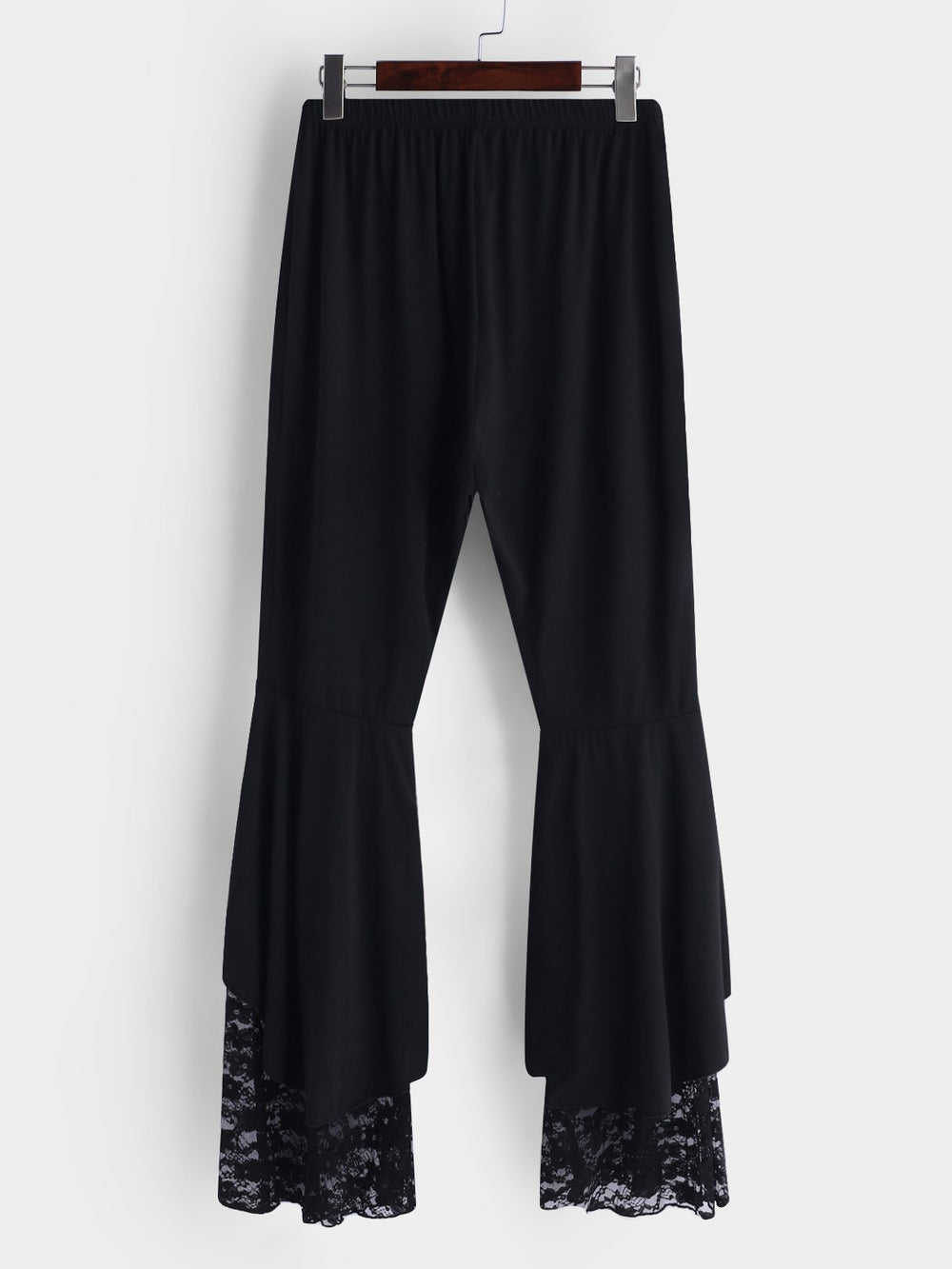 Plus Size Velvet Bell Bottoms