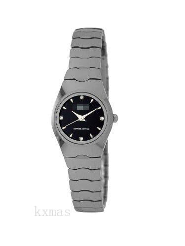 Trendy Elegance Tungsten 12 mm Watch Band Replacement 8071L_K0015337