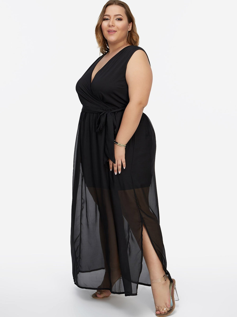 Ladies Black Plus Size Dresses