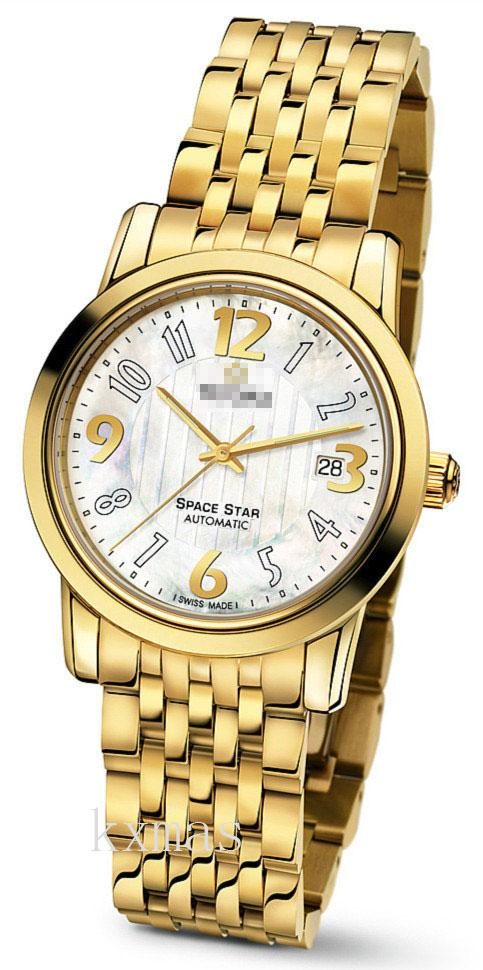 Bargain Classic Gold Tone Stainless Steel Watch Wristband 83738G-371_K0005685