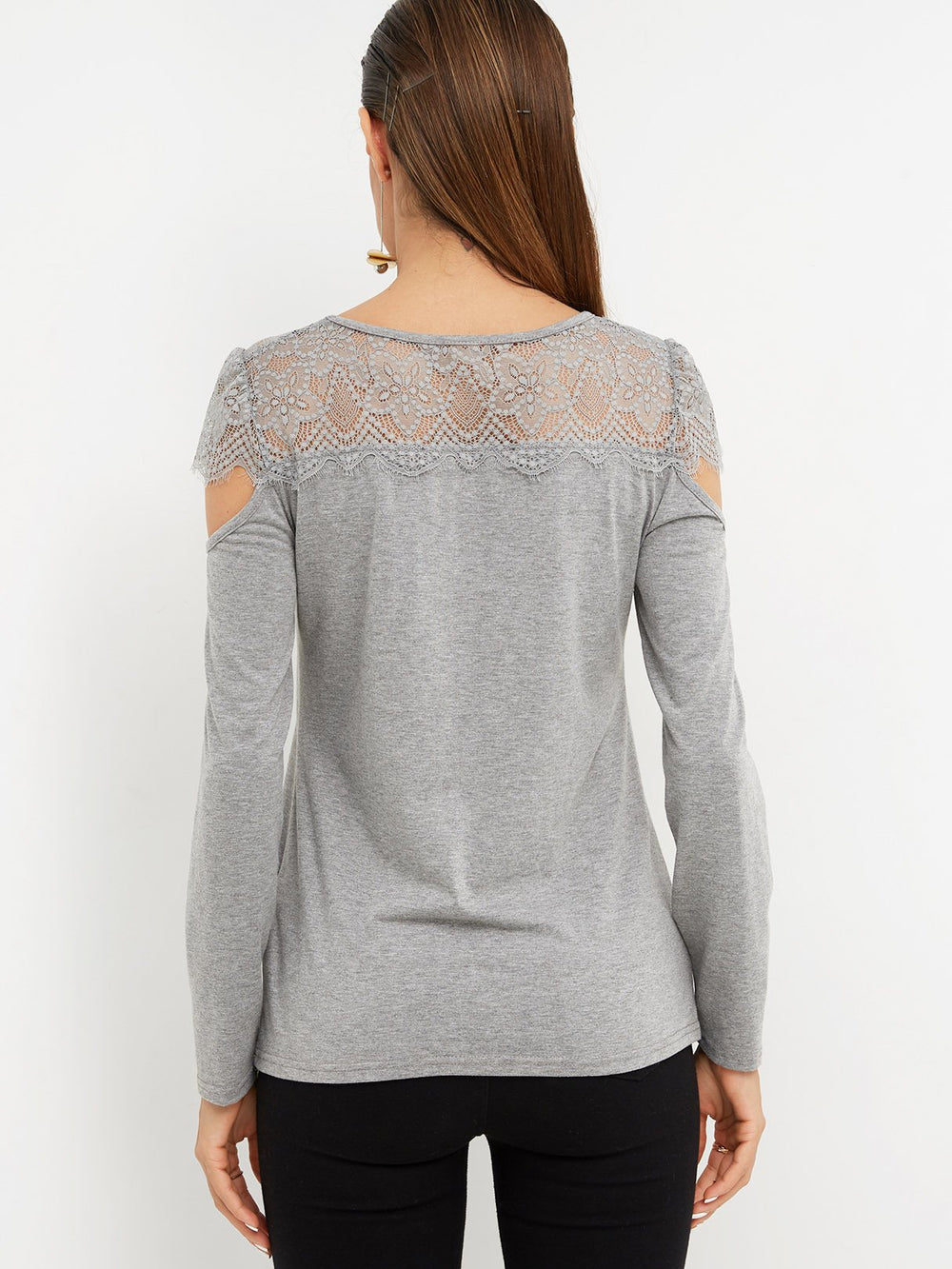 Womens Grey T-Shirts