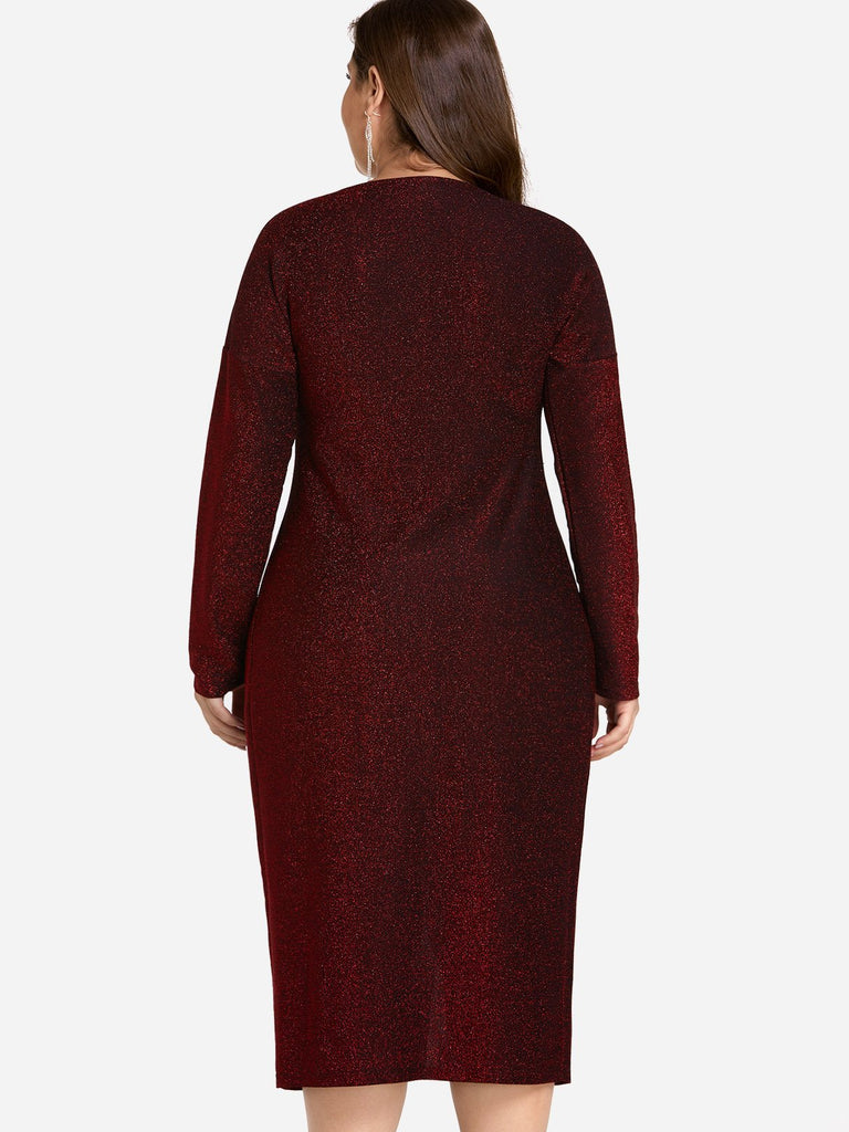 Womens Red Plus Size Dresses