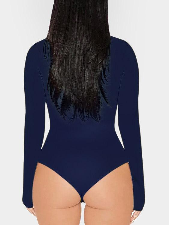 Womens Navy Bodysuits
