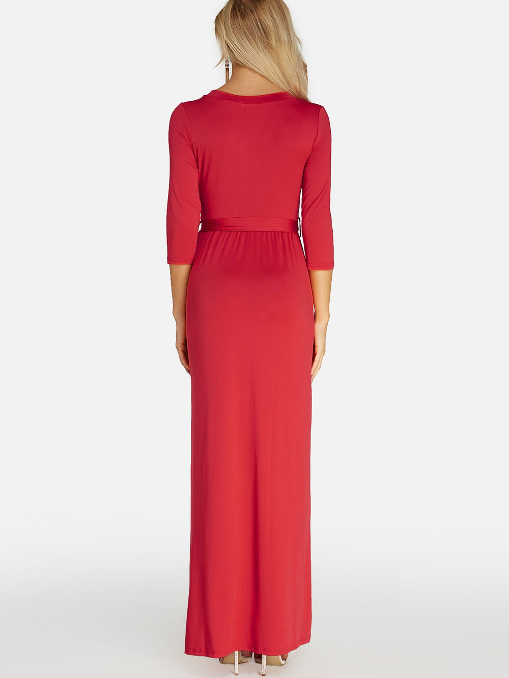 Womens Red Maxi Dresses