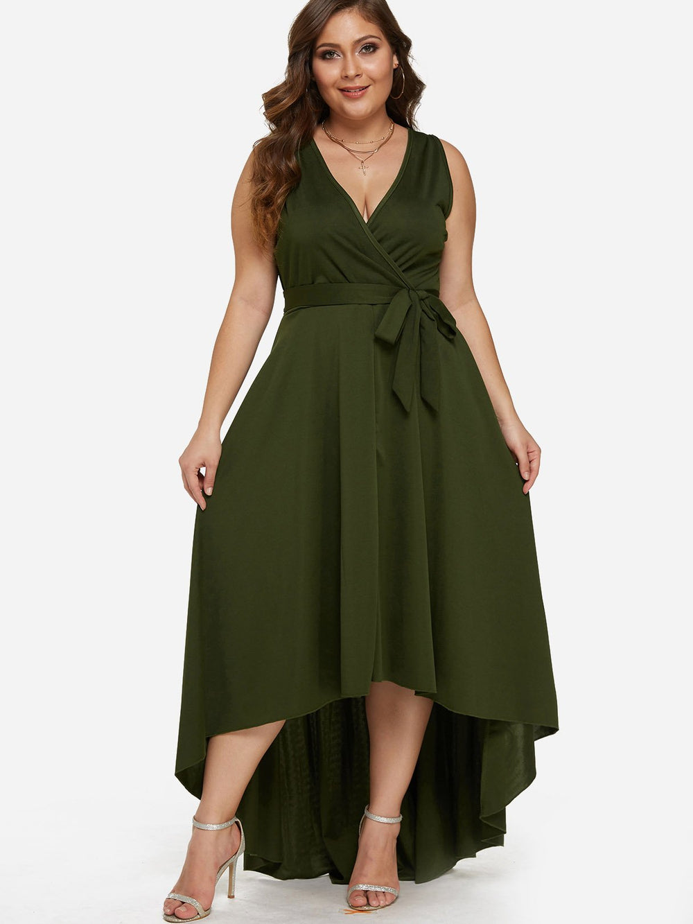 Womens Sleeveless Plus Size Dresses