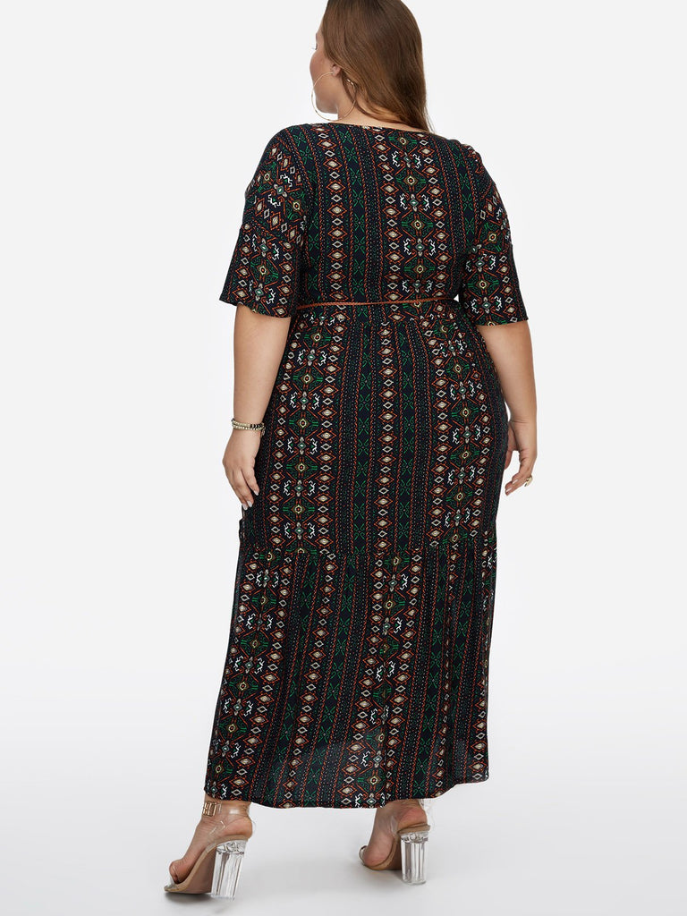 Womens Green Plus Size Dresses